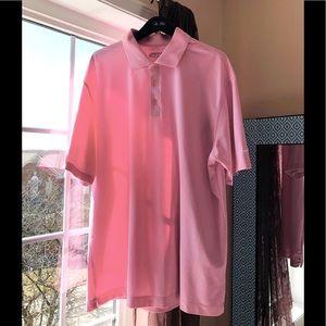 NIKE GOLF Fit Dry Shirt Pink XL EUC